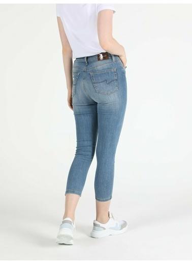 Colin's 760 Dıana Yüksek Bel Orta Super Slim Fit Jean Kadın Jean Pantolon Renkli